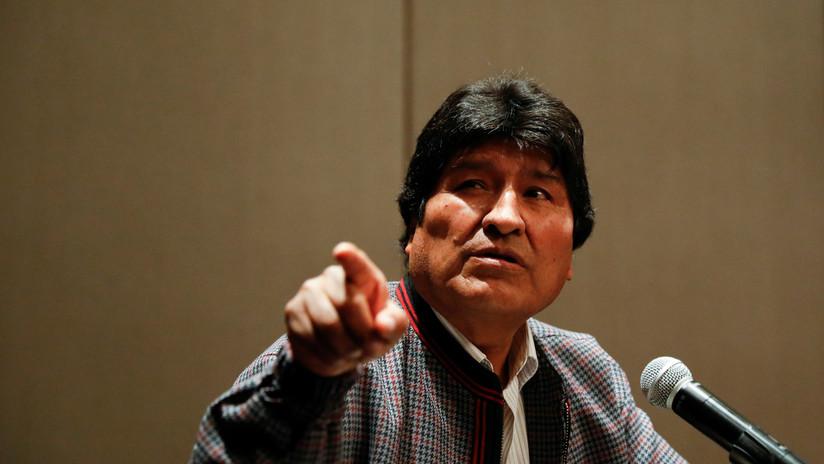 Evo Morales denuncia que el gobierno de facto de Jeanine Áñez dificultó la salida de sus hijos de Bolivia