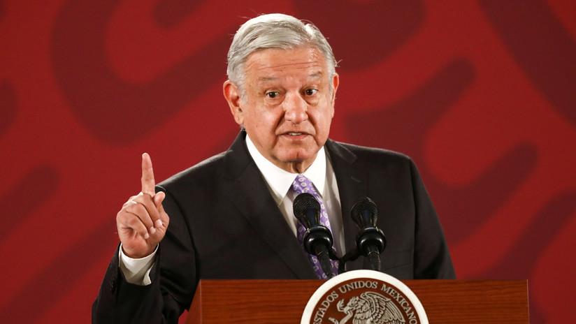"""López Obrador reitera que no permitirá la injerencia extranjera en México a pesar de las """"presiones"""""""