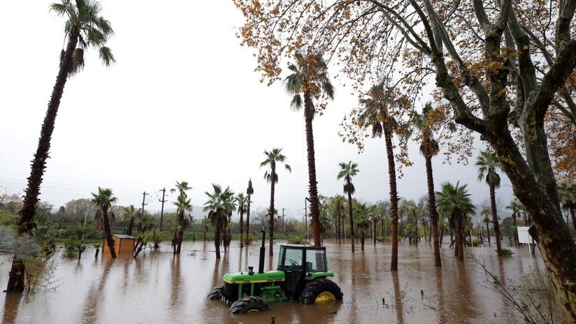 Violentas tormentas en Italia, Francia y Grecia dejan al menos nueve muertos y extensos daños este fin de semana