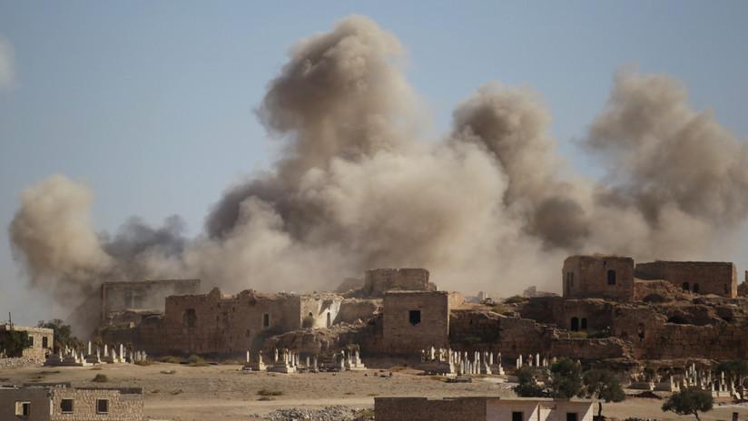 Rusia advierte de una provocación con armas químicas en Siria a manos de terroristas y Cascos Blancos