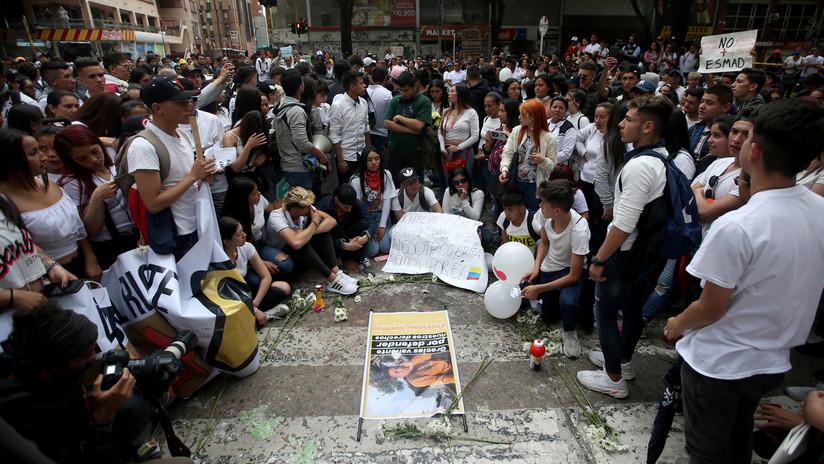Muere el joven que fue impactado en Bogotá por una granada de gas lacrimógeno de la Policía
