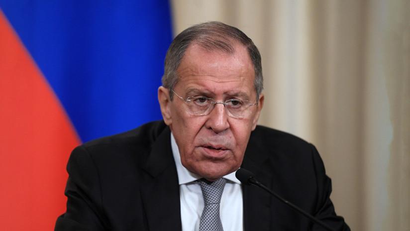 """Lavrov, sobre la recomendación del comité de la WADA: """"Desean poner a Rusia en una posición defensiva y acusada de todo"""""""