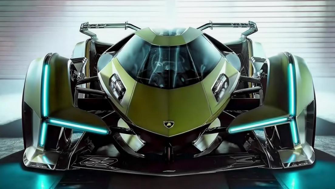 Lamborghini presenta una 'bestia' monoplaza con 819 caballos de fuerza para la saga GT de PlayStation