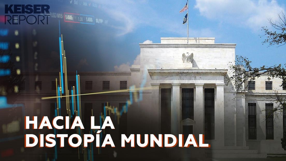 """""""Las economías estadounidense y mundial se convirtieron en auténticos cadáveres"""""""