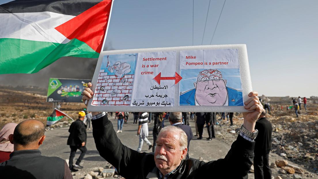 Palestina amenaza con romper relaciones con EE.UU. por su posición sobre los asentamientos israelíes