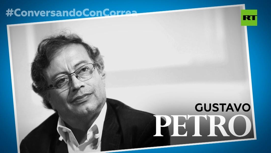 """Gustavo Petro a Correa: """"Latinoamérica está buscando un camino propio; las multitudes son el actor social"""""""