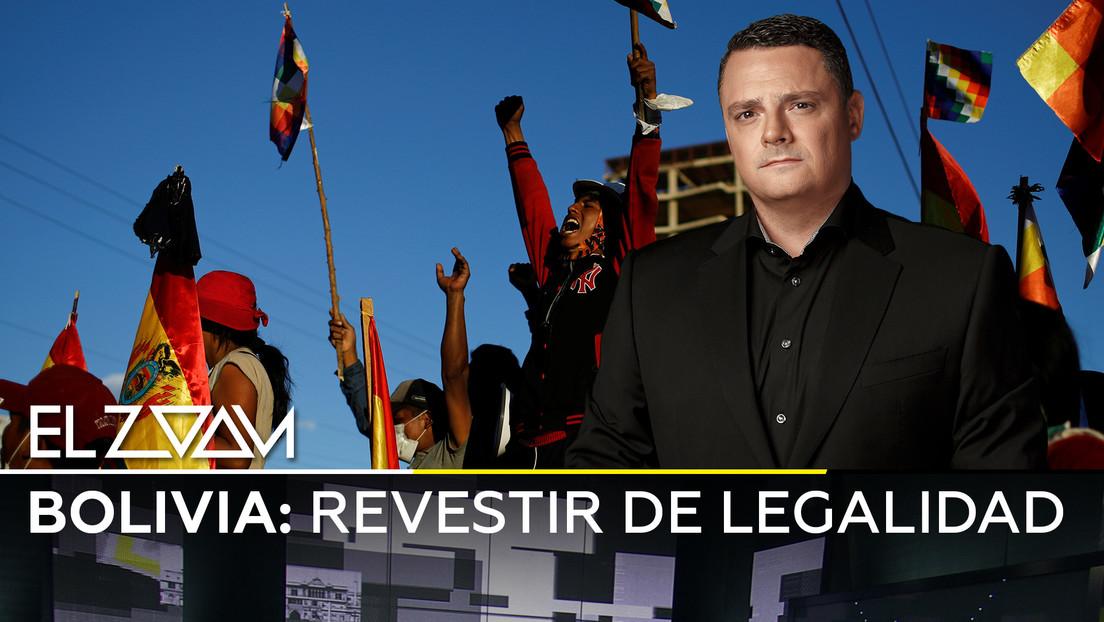 Bolivia: Revestir de legalidad