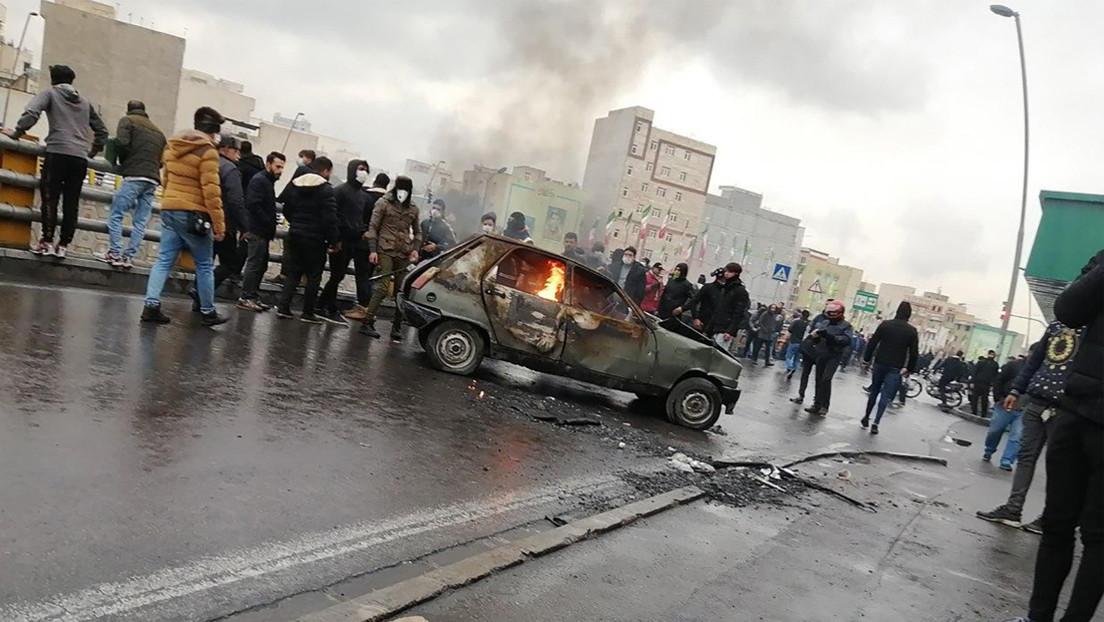 Irán: Arrestan a ocho sospechosos vinculados a la CIA por los disturbios en el país