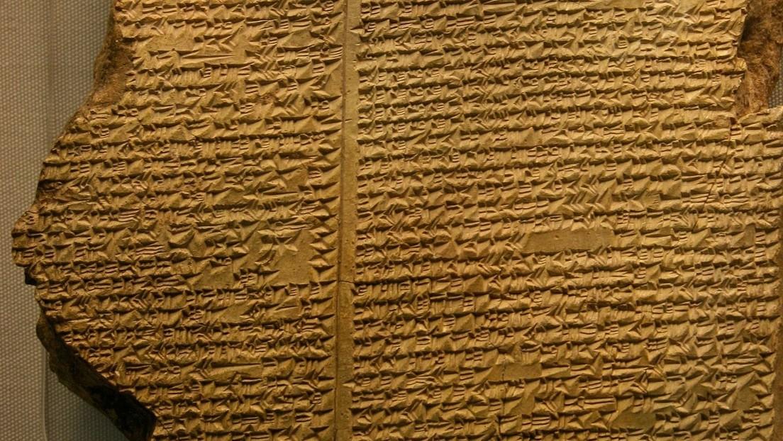 Descubren el primer ejemplo de 'fake news' en una tablilla babilónica sobre el arca de Noé