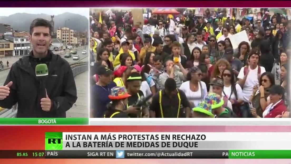 Colombia: Nuevas marchas en el marco del paro nacional