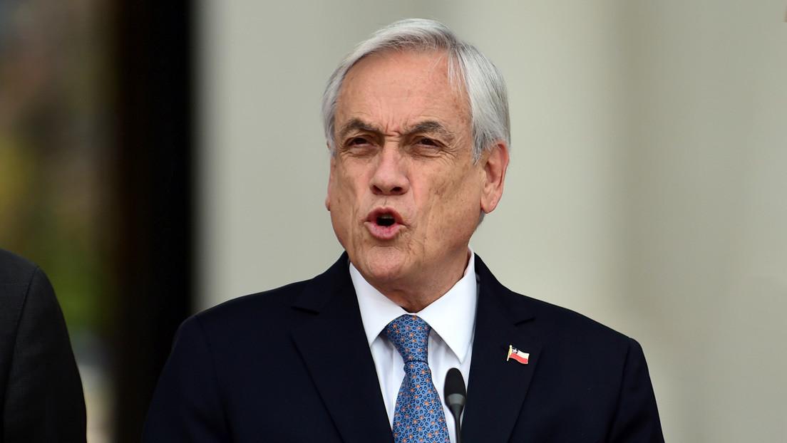 Piñera pide al Congreso aprobar cuatro proyectos de ley de seguridad en medio de las protestas