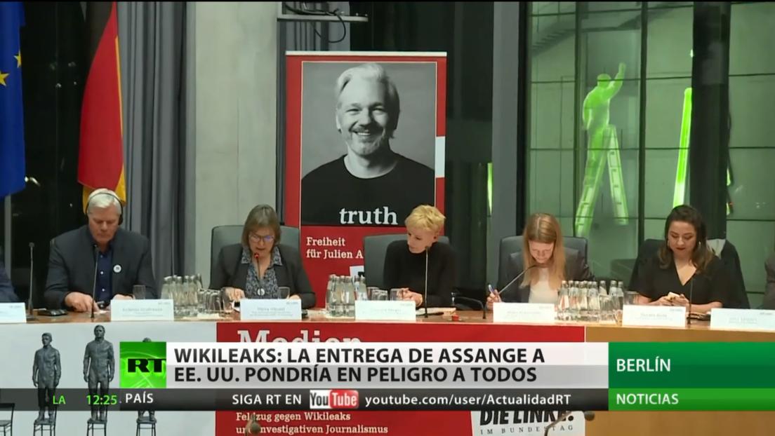 WikiLeaks: La entrega de Assange a EE.UU. pondría en peligro a todos
