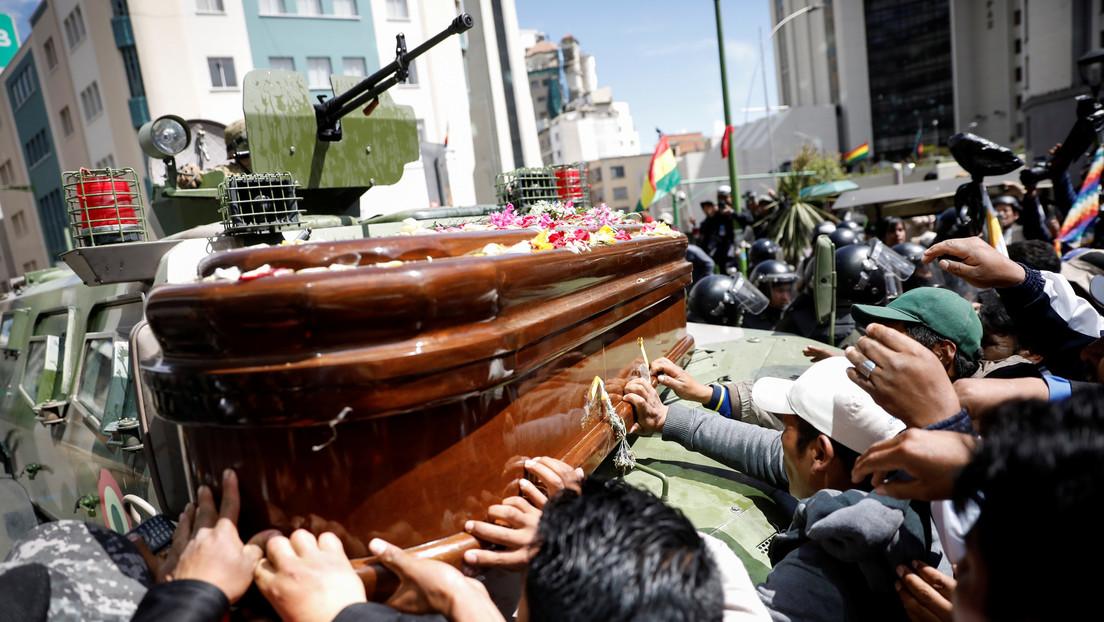 Aumenta a 10 el número de fallecidos tras la represión policial en la planta de Senkata en Bolivia