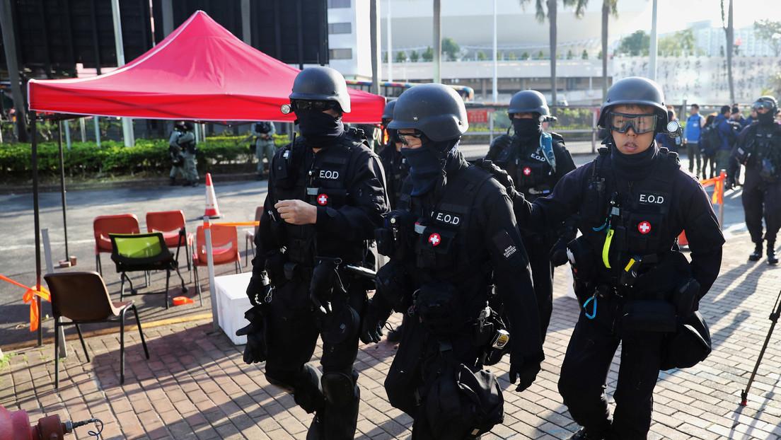 El Gobierno de Hong Kong se opone frontalmente a la nueva ley de Trump que apoya a los manifestantes