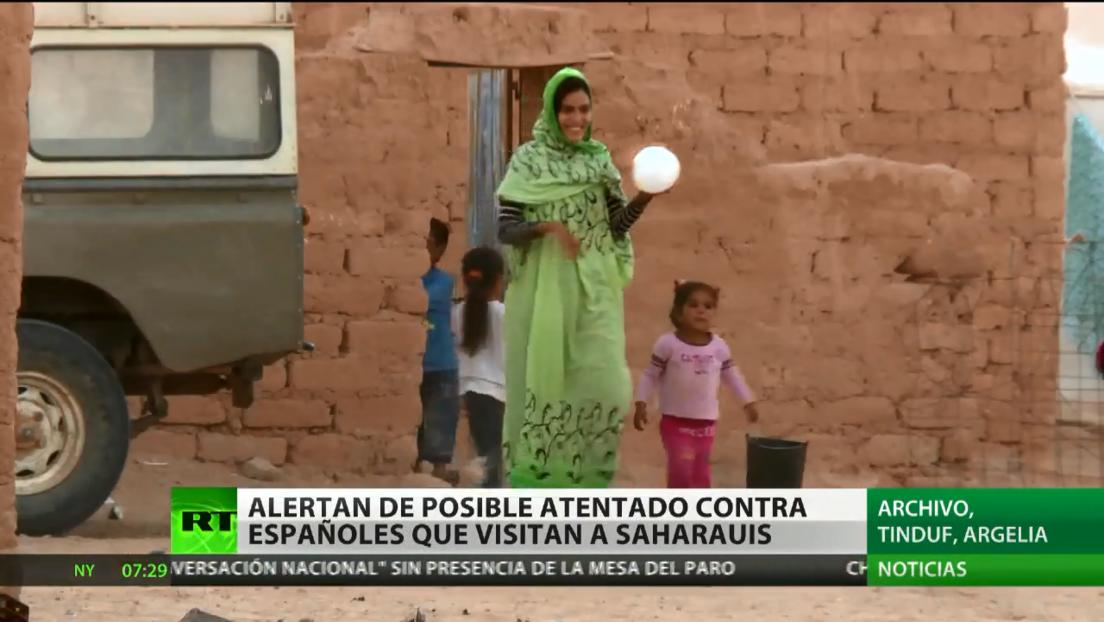 El Gobierno de España desaconseja a sus ciudadanos viajar a los campos de refugiados saharauis en Argelia
