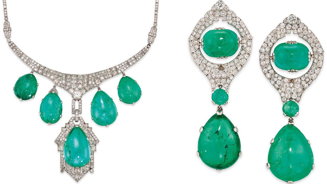 La familia de Franco consigue 185.500 dólares por dos polémicas joyas subastadas en Christie's