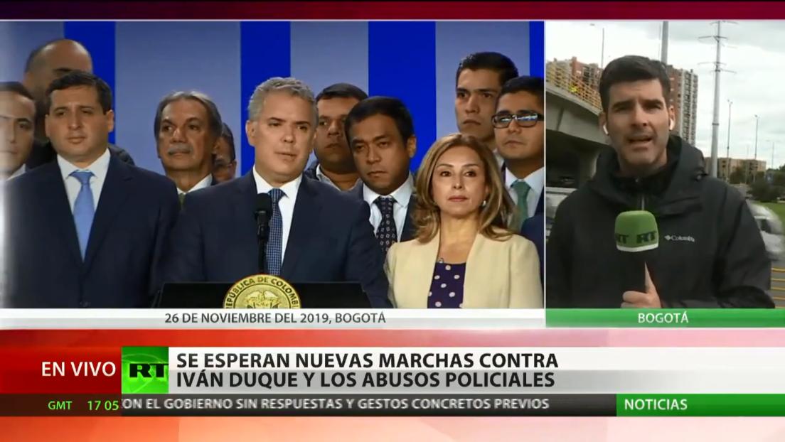 Convocan en Colombia nuevas marchas contra Iván Duque y los abusos policiales
