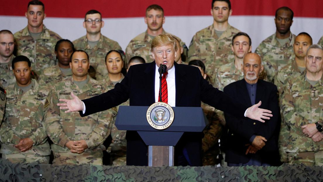 Trump anuncia en Afganistán que reanuda las negociaciones con los talibanes