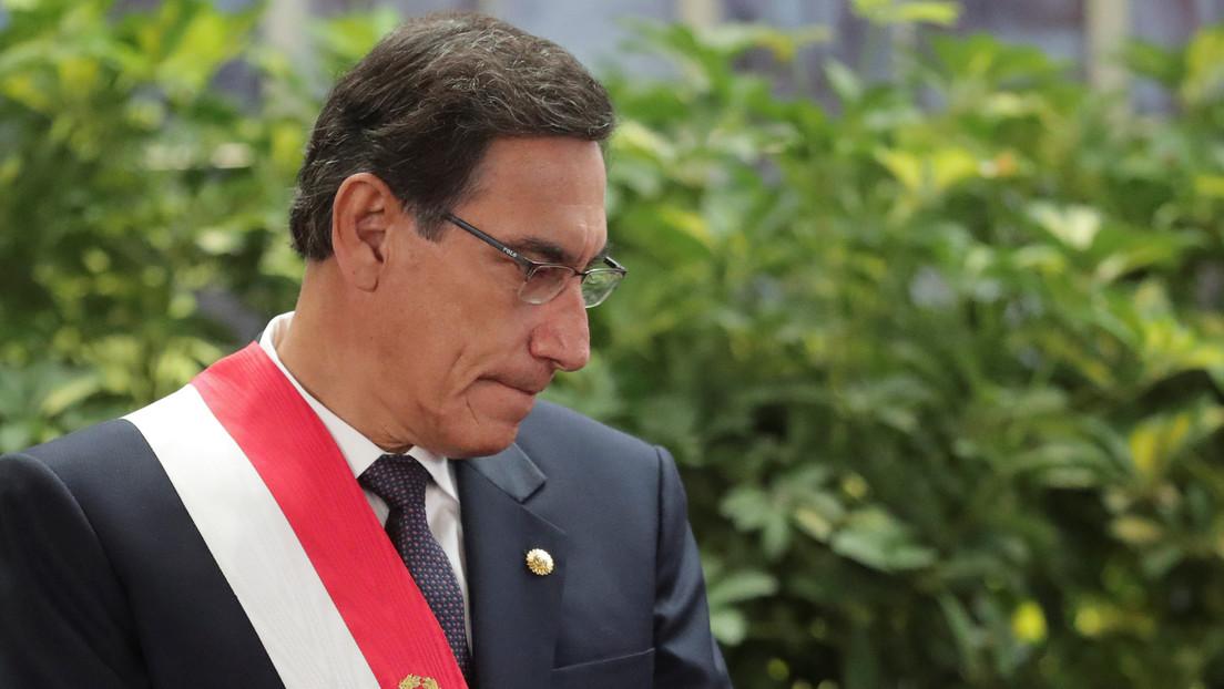 """Presidente de Perú afirma que perseguirá la corrupción """"caiga quien caiga"""" tras la detención de su exprimer ministro"""