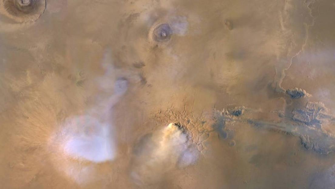 """Resultado de imagen de ¿Cómo desapareció el agua en Marte? La NASA encuentra una posible explicación"""""""