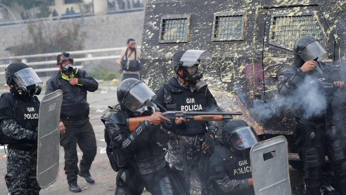 ONU : hubo uso desproporcionado de la fuerza en Ecuador