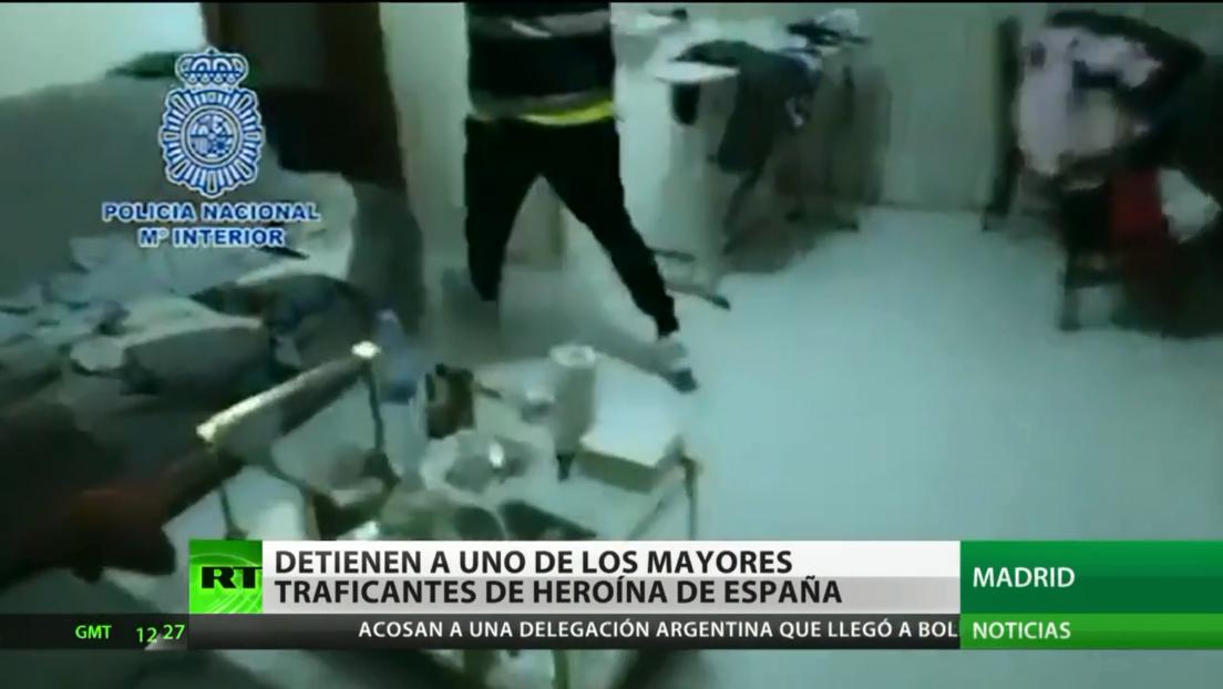 España: Arrestan a uno de los mayores traficantes de heroína en el país