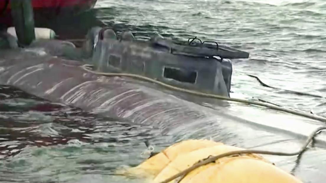 Lo que se sabe hasta ahora del narcosubmarino interceptado en España con 3 toneladas de cocaína