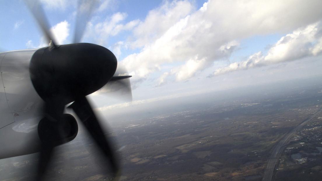 Una tormenta destruye la parte frontal de un avión y el piloto logra aterrizar con éxito (FOTOS)