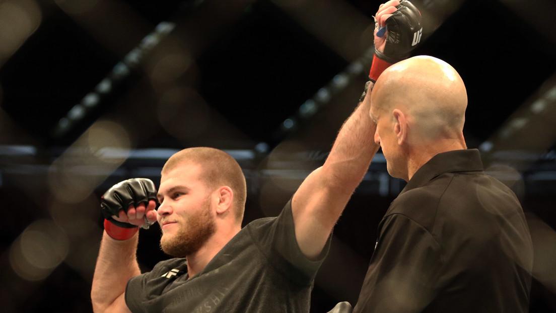 """""""Donde los hombres se matan entre ellos"""": 'The Celtic Kid' anuncia su próximo combate en la UFC y firma con sangre (FOTO)"""