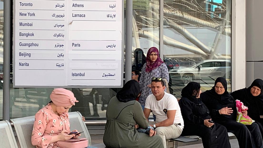 Arrestan a un empleado aeroportuario de Egipto por manosear a una pasajera estadounidense