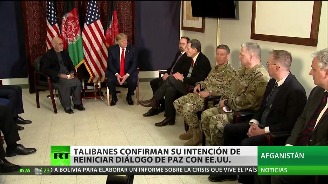 Los talibanes confirman su intención de retomar el diálogo de paz con EE.UU.