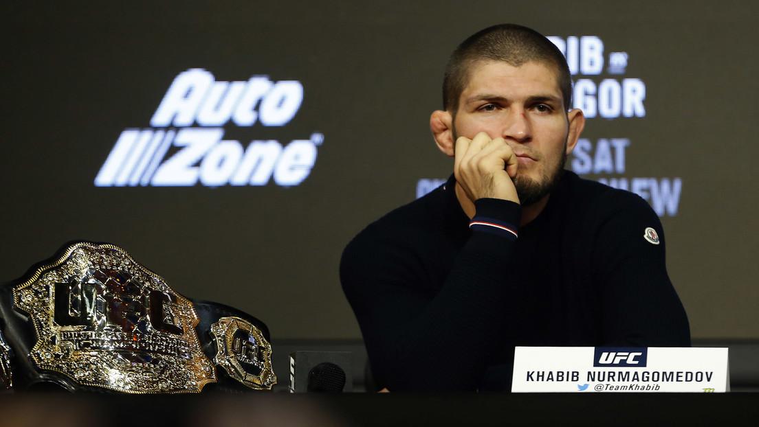 Es oficial: Khabib Nurmagomédov defenderá el título de peso ligero de la UFC ante Tony Ferguson