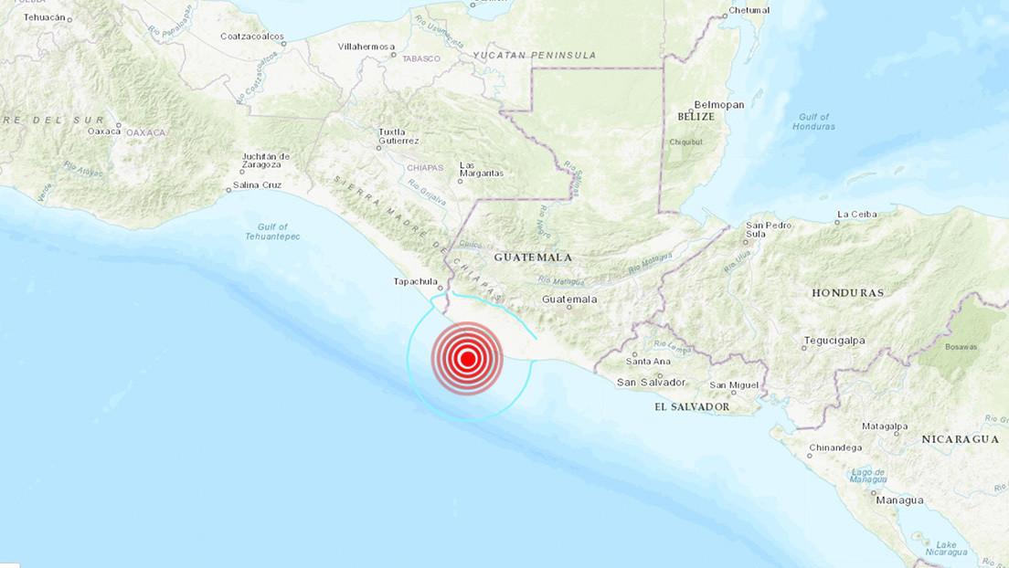 Un sismo de magnitud 5,6 sacude las costas de Guatemala