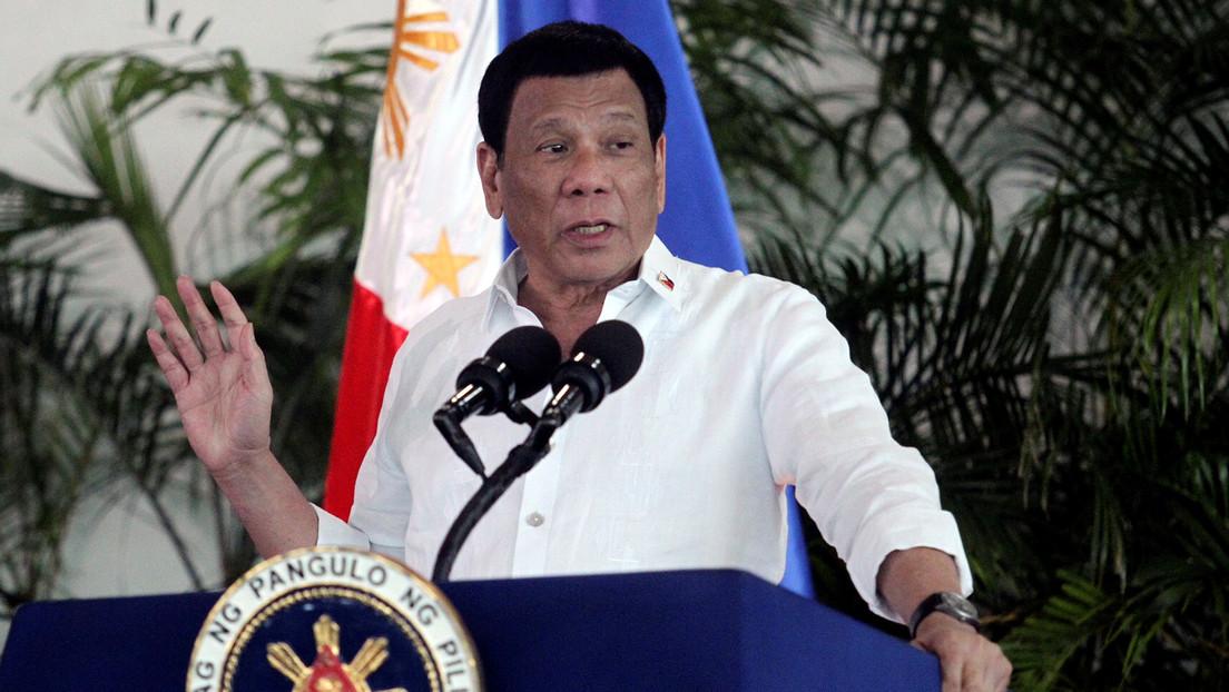 """Duterte se ofrece a liderar la Policía de Filipinas si no encuentra un """"hombre honesto"""" para el cargo"""