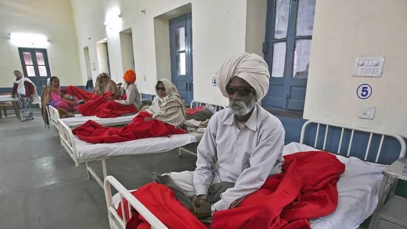 En la India aumentan un 324 % los casos de cáncer en un solo año