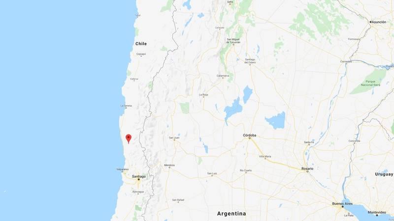 Un fuerte sismo de magnitud 6,3 sacude la zona central de Chile