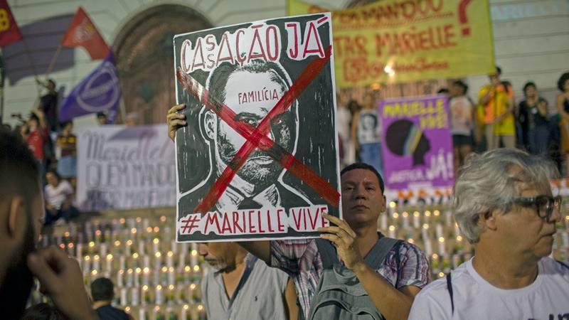 Protestas en Brasil contra Eduardo Bolsonaro tras amenazar con implantar medidas dictatoriales