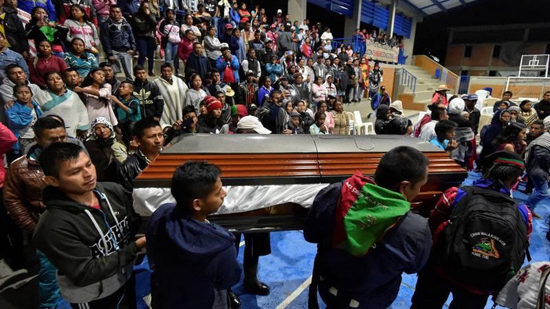 Asesinan a un segundo indígena en menos de 24 horas en el departamento colombiano del Cauca