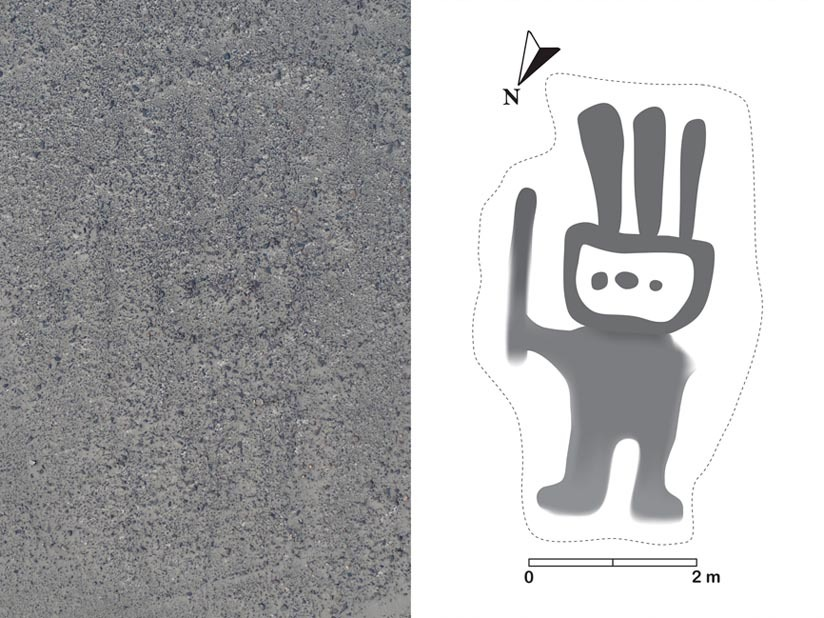 Científicos japoneses descubrieron 143 nuevos geoglifos en las Líneas de Nazca