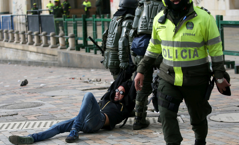 Venezolanos expulsados de Colombia por actos vandálicos en protestas