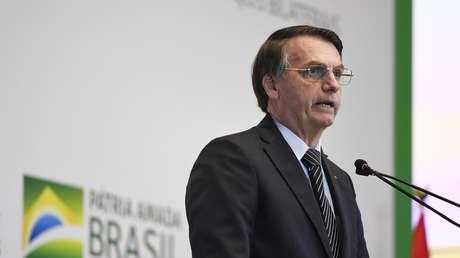 El presidente de Brasil, <strong><a href=