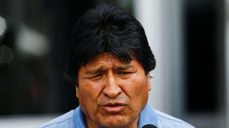 """Evo Morales, tras la autoproclamación de Áñez: """"Se ha consumado el golpe más artero y nefasto de la historia"""""""