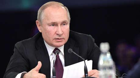"""Putin sobre las protestas en América Latina: """"Esperemos que los intereses de la gente prevalezcan sobre las ambiciones políticas"""""""