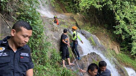 Un turista francés muere en Tailandia al caer por una cascada mientras intentaba hacerse una selfi