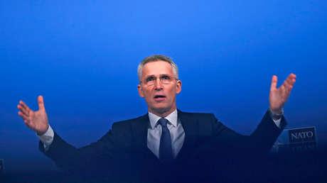 """Stoltenberg discutirá con Macron """"el mensaje y las motivaciones"""" de su declaración sobre la """"muerte cerebral"""" de la OTAN"""