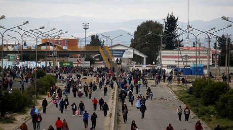 Operativo militar en la planta de hidrocarburos boliviana de Senkata deja al menos un muerto (VIDEOS)