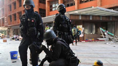 """China amenaza con """"contramedidas firmes"""" tras la firma por Trump de la ley que apoya a manifestantes de Hong Kong"""