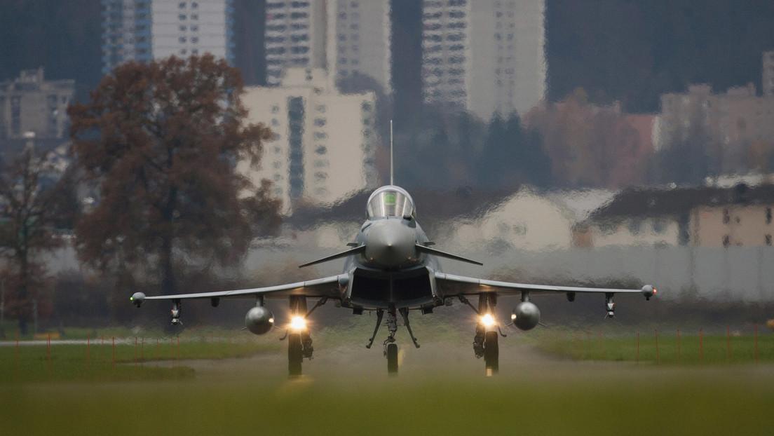 Londinenses se despiertan exaltados por la explosión sónica de dos aviones de combate