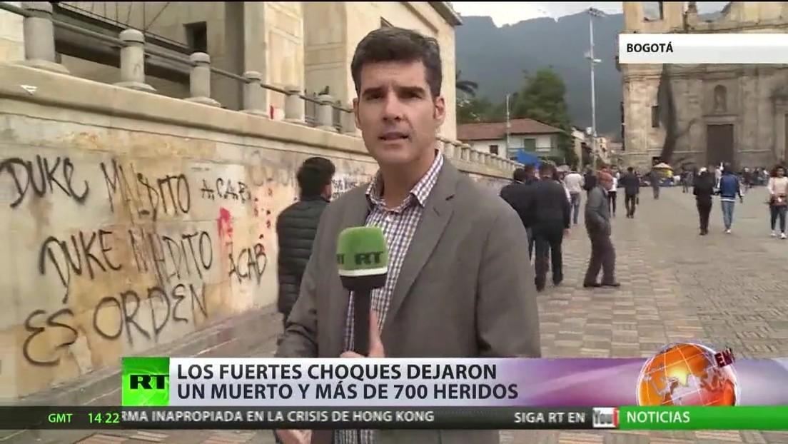 Colombia vive una semana convulsa en medio de las protestas