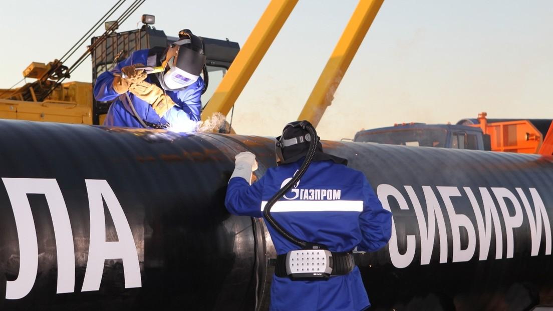 Gasoducto unirá Rusia con China